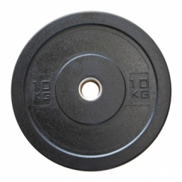 Диск олимпийский бамперный 10 кг.