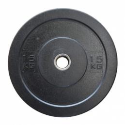 Диск олимпийский бамперный 15 кг
