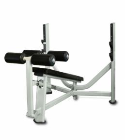 Олимпийская скамья с отрицательным углом наклона V8-106